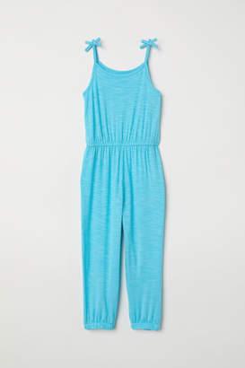 H&M Sleeveless Jumpsuit - Turquoise