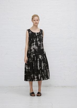 Comme des Garcons black pleat body tank dress $1,743 thestylecure.com