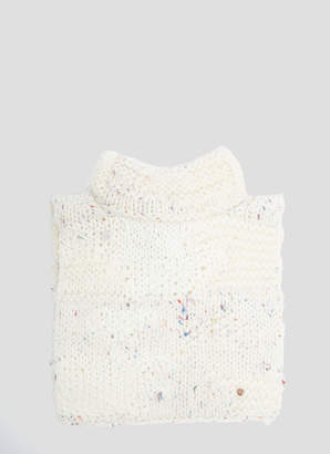 Flapper Adele Knit Collar in White