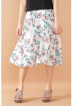 Jill Stuart (ジル スチュアート) - ジルバイジルスチュアート |美人百花 5月号掲載|ヴィンテージサマーフローラルスカート