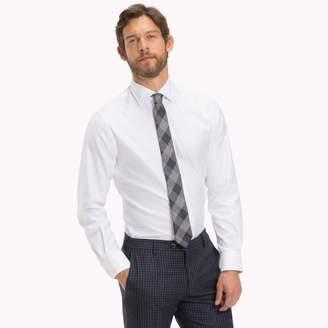Tommy Hilfiger Italian Cotton Dobby Dress Shirt