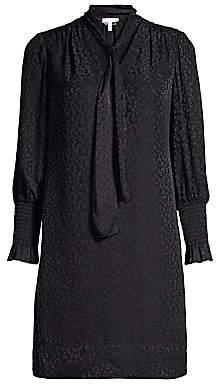 Rebecca Taylor Women's Cheetah Jacquard Shift Dress