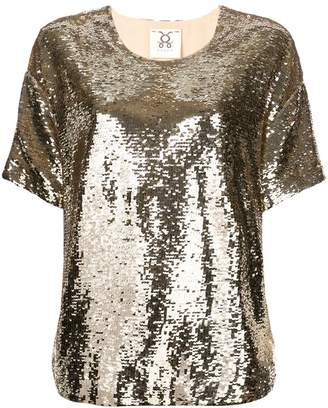 Figue Layla sequin top