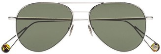 AHLEM 22k gold plated Pantheon aviator sunglasses