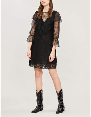 See by Chloe Ruffled lace dress