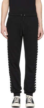 Faith Connexion Black Kappa Edition Jogger Pants
