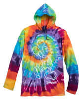 Mickey Mouse Long Sleeve Hooded Tie-Dye T-Shirt for Adults - Disneyland