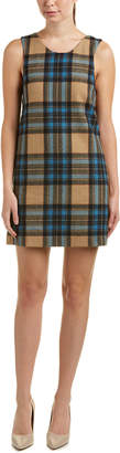 Rachel Antonoff Wool-Blend Shift Dress