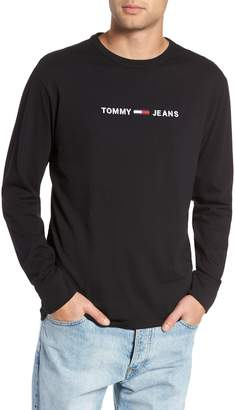 Tommy Jeans TJM Logo Graphic Long Sleeve T-Shirt
