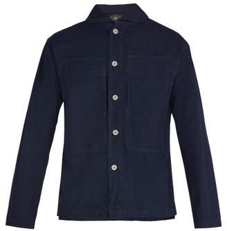 Rrl - Cotton Shirt - Mens - Dark Indigo