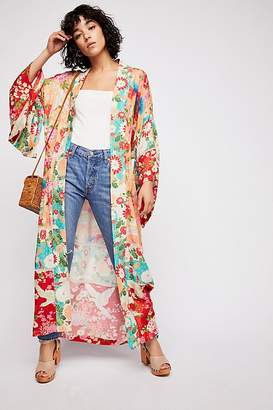 Spell And The Gypsy Collective Delilah Patchwork Maxi Kimono