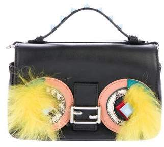Fendi Monster Double Micro Baguette