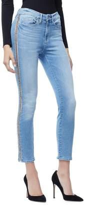 Ga Final Good Legs Crop Side Chains - Blue166