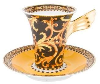 Rosenthal Meets Versace 24-Piece Barocco Coffee Cup & Saucer Set