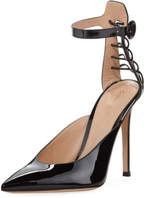 Gianvito Rossi Portofino Corset High Sandal Pumps