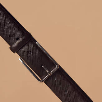 Sandro Saffiano leather belt