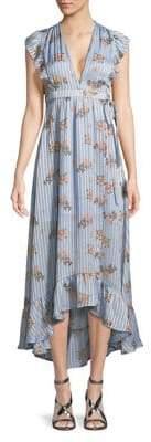 ASTR the Label Floral Hi-Lo Dress