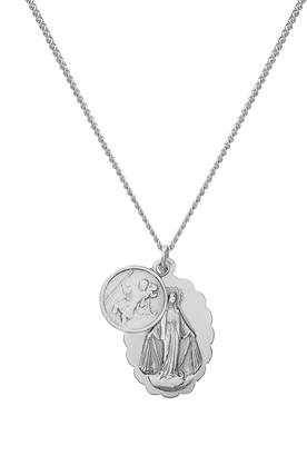 Miansai Mini Saints Pendant Duo Necklace
