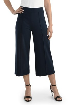 Fruit of the Loom Seek No Further by Women's Wide-Leg Crop Pant, Available in Sizes up to 2XL