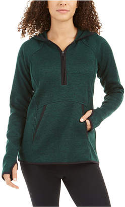 Ideology Quarter-Zip Hoodie Sweater