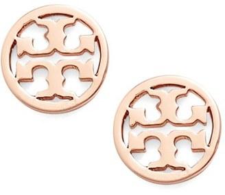 Women's Tory Burch Circle Logo Stud Earrings $78 thestylecure.com