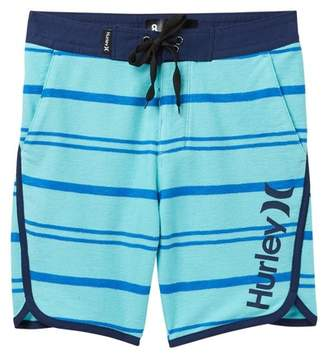 Hurley Striped Hangout Walk Shorts (Big Boys)
