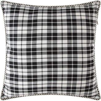 Mackenzie Childs Yuletide Plaid Cushion