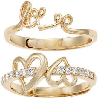 "Mother Daughter ""Love"" Ring Set"