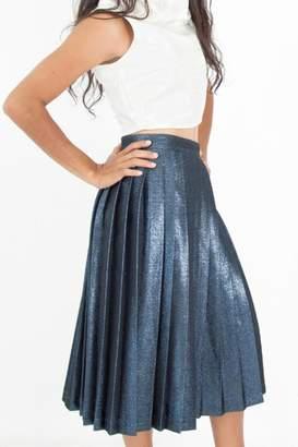 Sandra Weil Mefat Metallic Skirt