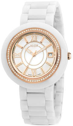 Alor Women's 37Mm Cavo Diamond Watch