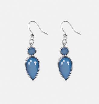 Avenue Blue Teardrop Drop Earrings