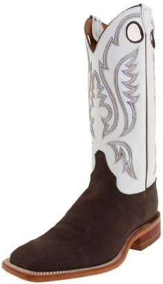 "Justin Boots Men's U.S.A. Bent Rail Collection 13"" Boot Wide Square Double Stitch Toe Leather Outsole"