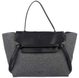 Celine Small Felt Belt Bag