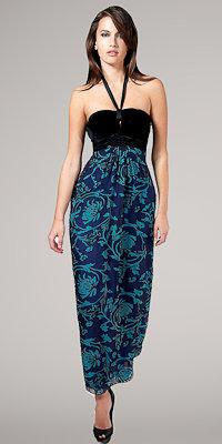 Halter Maxi Dresses by Hale Bob