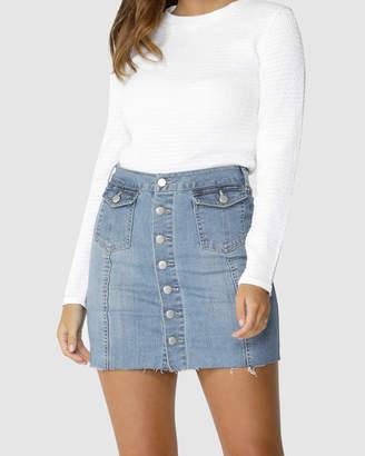 d625fd6d702a3 Button Down Skirt - ShopStyle Australia