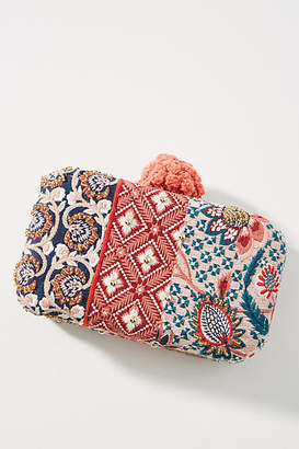 Anthropologie Nadia Embroidered Clutch