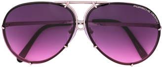 Porsche Design round frame sunglasses