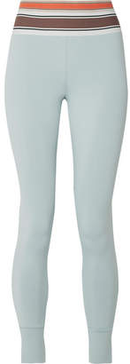 Vix Olympia Activewear Stretch-jersey Leggings - Sky blue