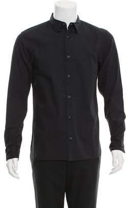 AllSaints Woven Button-Up Shirt