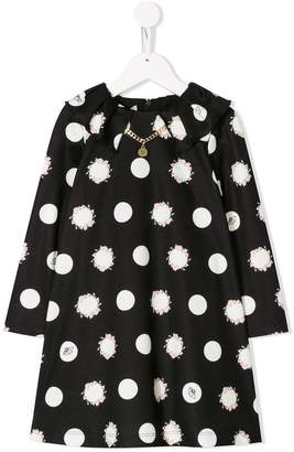 Miss Blumarine polka dot dress