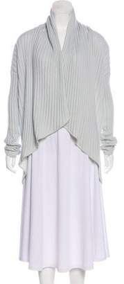 St. John Cashmere Open Front Cardigan