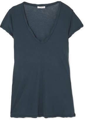 James Perse Slub Cotton-jersey T-shirt - Navy