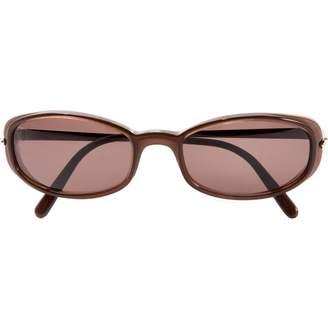 Cartier Brown Plastic Sunglasses