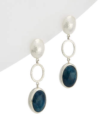 Gurhan Jordan Silver 20.02 Ct. Tw. Apatite Drop Earrings