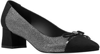 Bandolino Azia Almond Toe Pumps with Bow Women Shoes