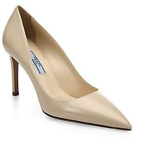 29b666953fc5 Prada Women s Saffiano Leather Point Toe Pumps