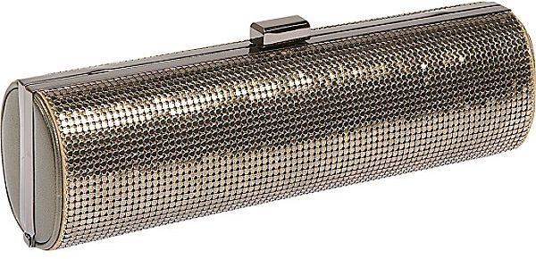 Whiting and Davis Metal Mesh Magazine Clutch