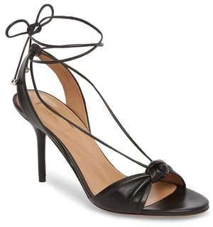 Aquazzura Virginie Lace-Up Sandal