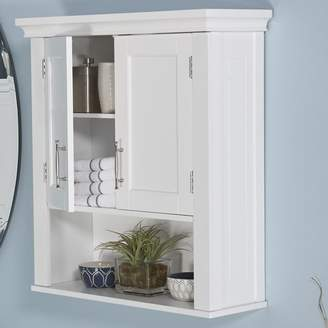 """Andover Mills Reichman 22.88"""" W x 24.38"""" H Wall Mounted Cabinet"""