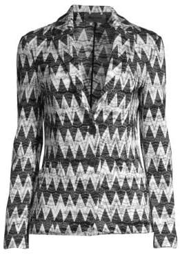 Missoni Zigzag Knit Jacket